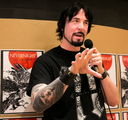 2016-07-29 Nevernight Launch - Jay Kristoff -19