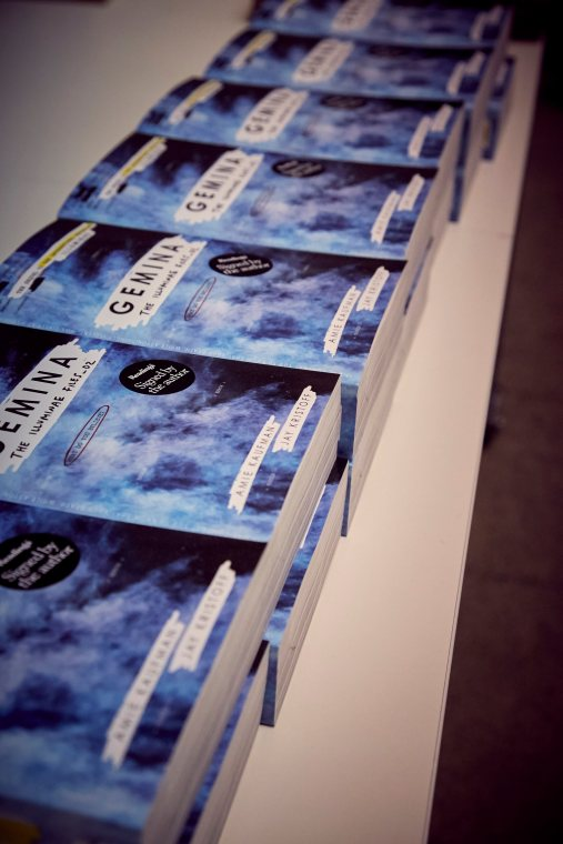 Gemina Book Launch with Jay Kristoff and Amie Kaufman, Melbourne